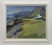 EASDALE, TOWARDS MULL, AN OIL BY ALMA WOLFSON