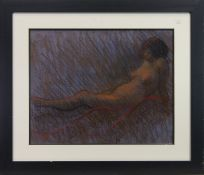 RECLINING NUDE, A PASTEL BY JOHN MACKIE