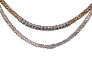 A DIAMOND NECKLET