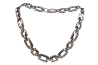 A SILVER NECKLET BY GROSSE OF GERMANY