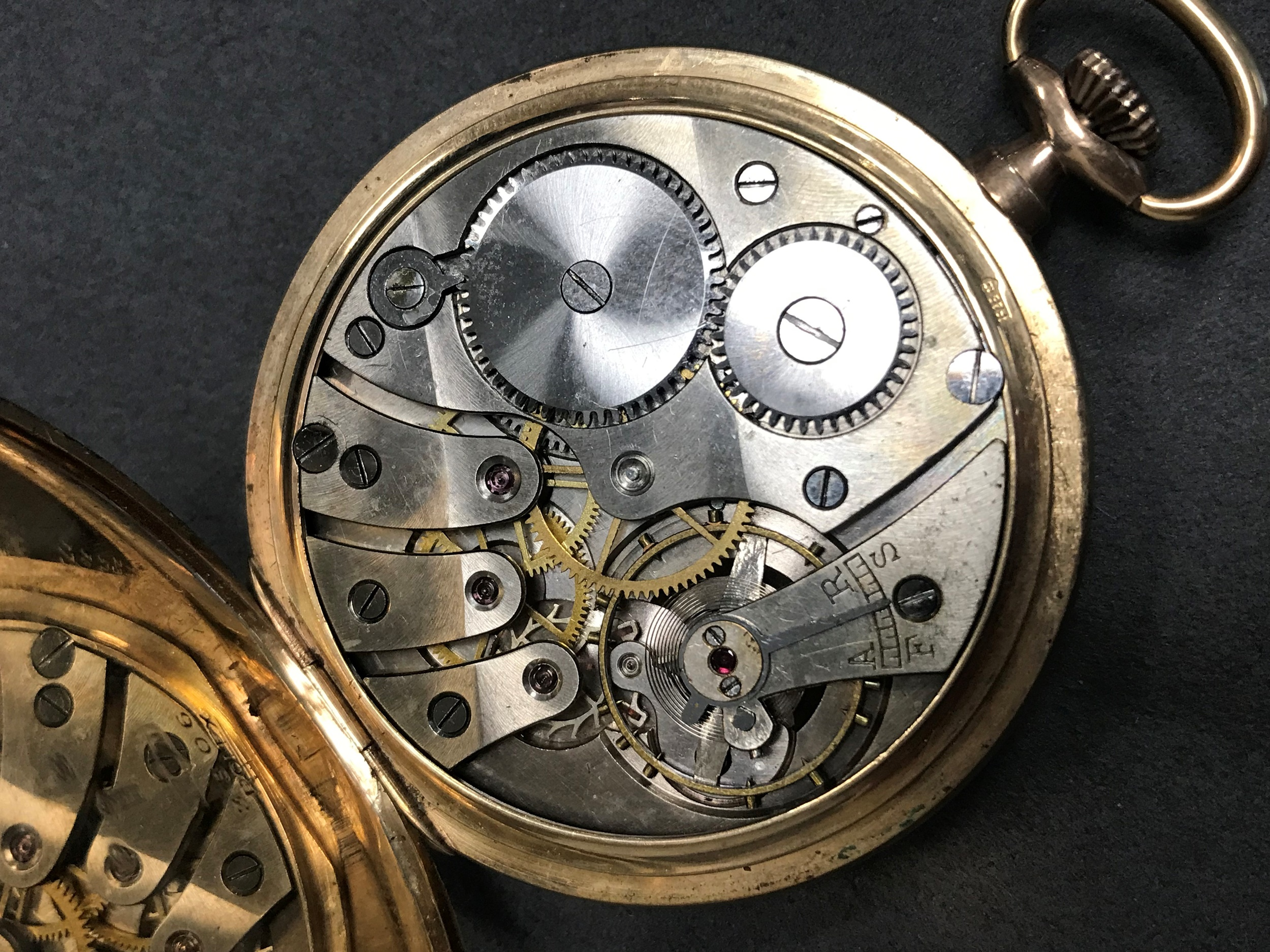 ROLEX CASED OPEN FACE POCKET WATCH, the round silver coloured dial signed 'Russells LTD, 18 Church - Image 2 of 2