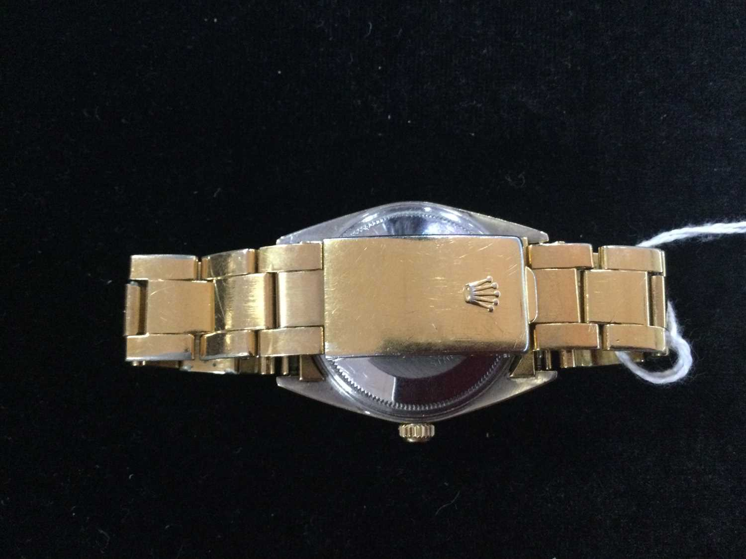 A GENTLEMAN'S ROLEX GOLD PLATED OYSTER PERPETUAL DATE AUTOMATIC WRISTWATCH - Image 10 of 13