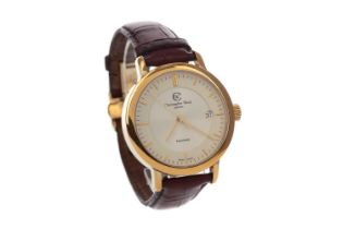 A GENTLEMAN'S CHRISTOPHER WARD GOLD PLATED AUTOMATIC WRIST WATCH