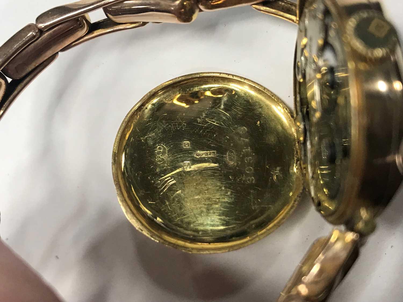 A LADY'S NINE CARAT GOLD MANUAL WIND WRIST WATCH - Image 3 of 3