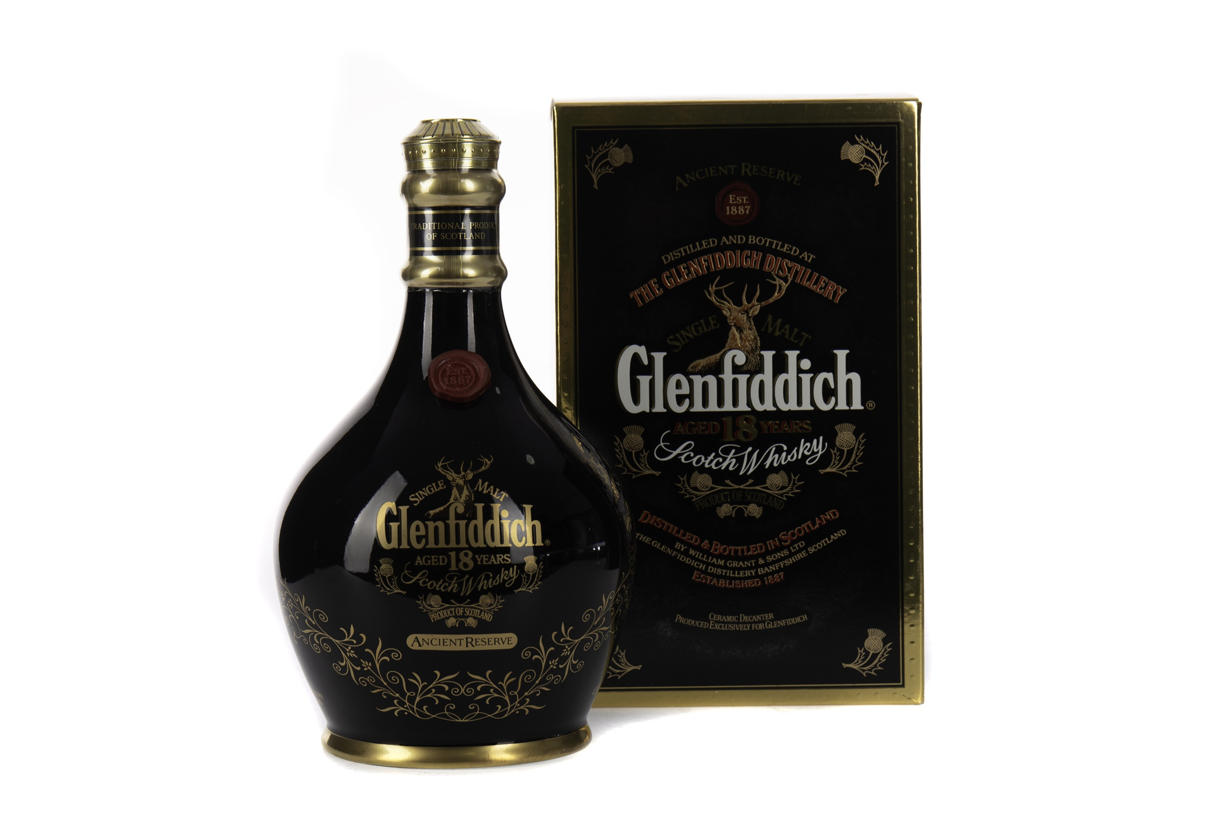 GLENFIDDICH ANCIENT RESERVE AGED 18 YEARS