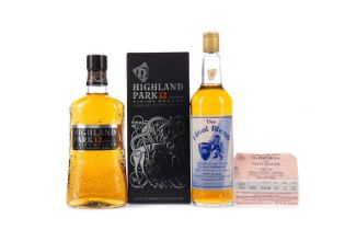 HIGHLAND PARK 12 YEARS OLD, AND THE FINAL BLEND
