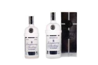 TWO BOTTLES OF TANQUERAY STERLING VODKA