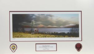 IMPENDING STORM, A PRINT BY GRAEME WALLACE 3/4