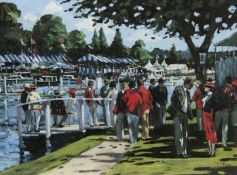 ENGLISH ELEGANCE, A HAND EMBELLISHED CANVAS BY SHERREE VALENTINE DAINES