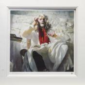 ARTIST IN WHITE, AN ARTIST PROOF BY ROBERT OSCAR LENKIEWICZ