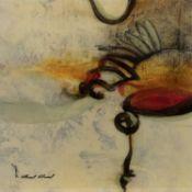 ABSTRACT, A PRINT BY GABRIELA VILLARREAL