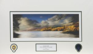 AUTUMN GOLD, A PRINT BY GRAHAM WALLACE