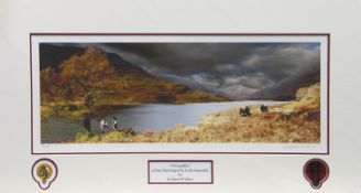 TRANQUILITY, A PRINT BY GRAEME WALLACE