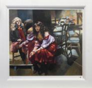 MIRROR AND SUBJECT, AN ARTIST PROOF BY ROBERT OSCAR LENKIEWICZ