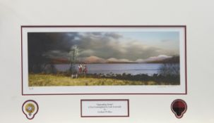 IMPENDING STORM, A PRINT BY GRAEME WALLACE