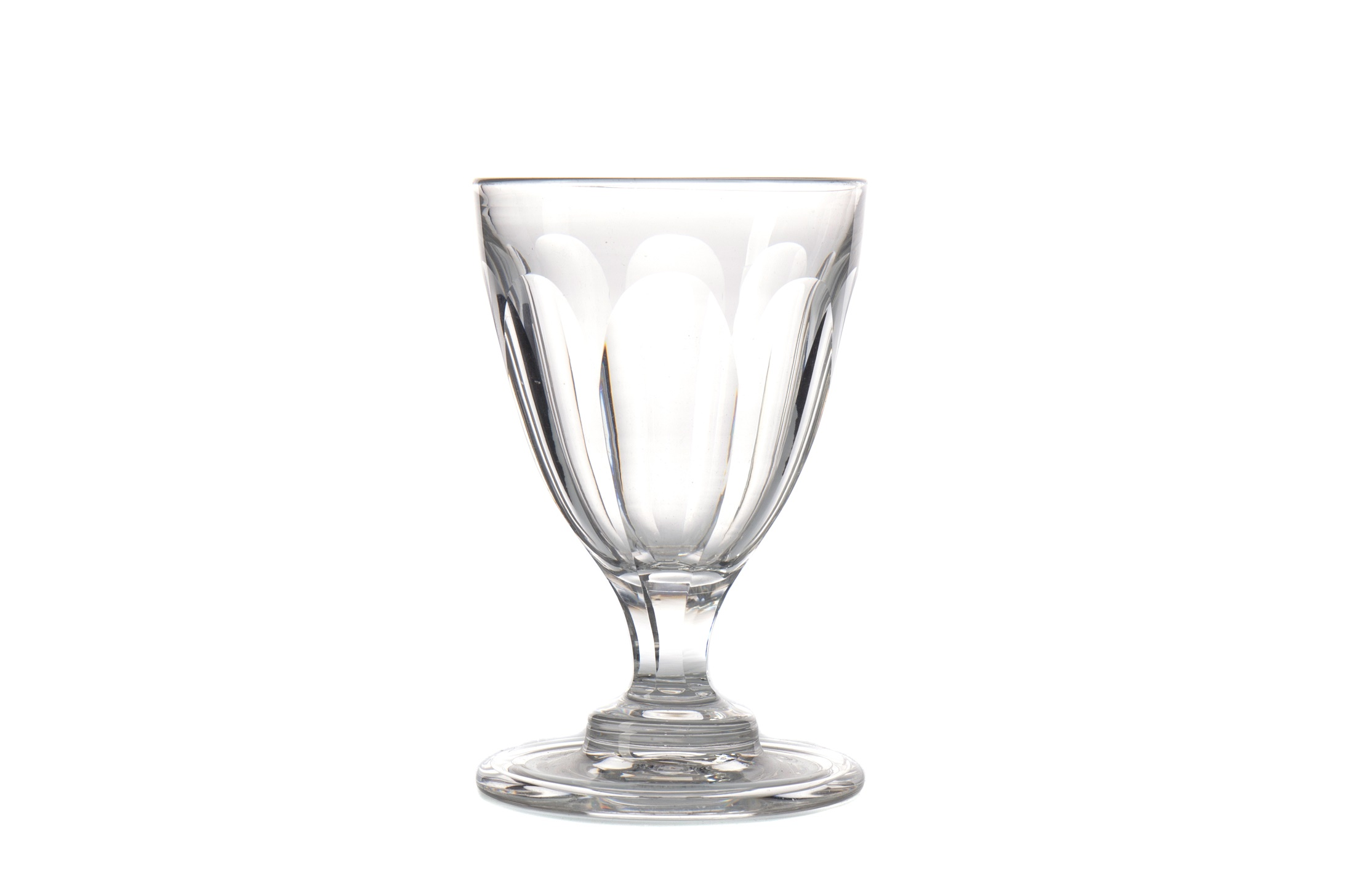 A REGENCY GLASS RUMMER