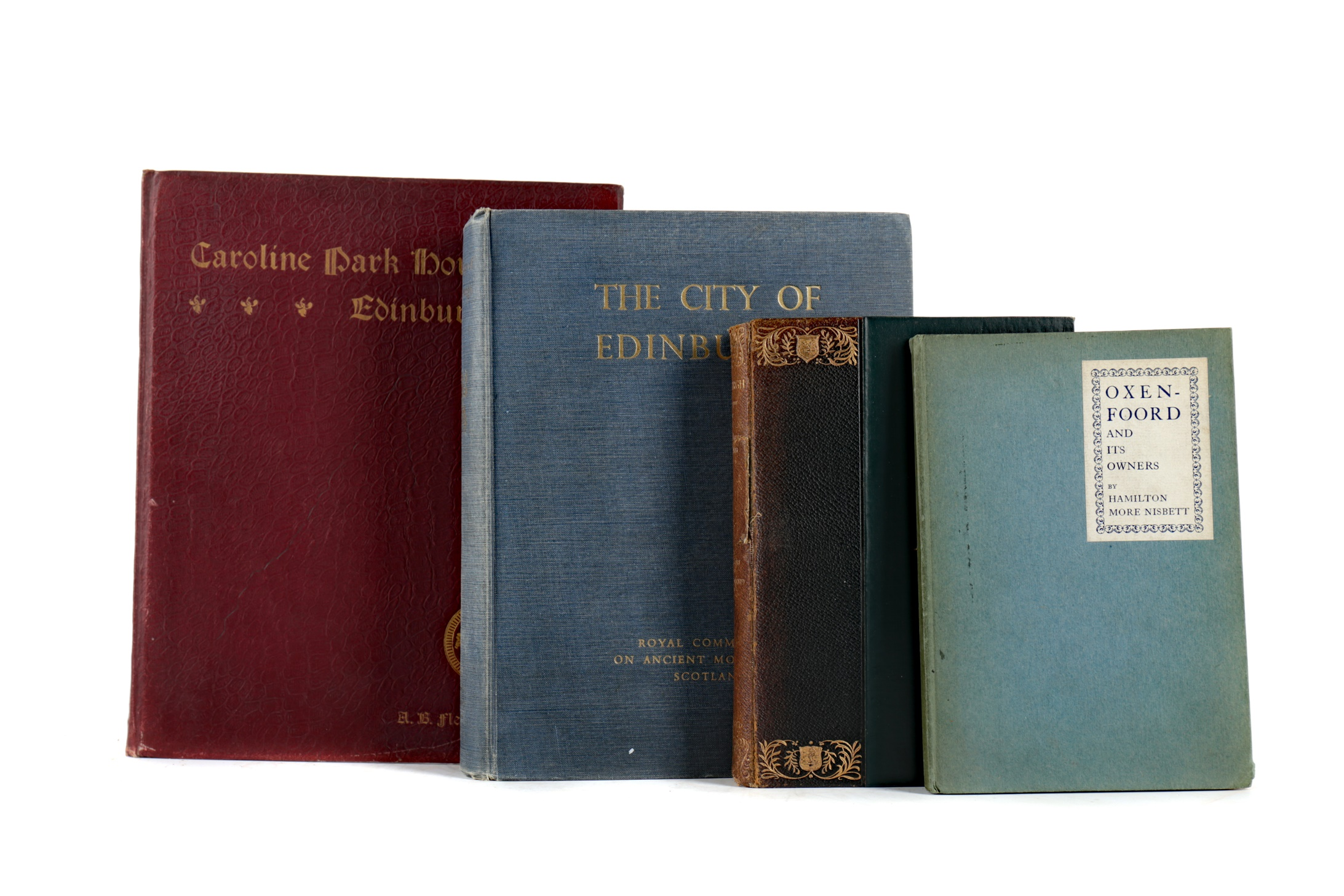THE ROYAL COMMISSION ON THE ANCIENT MONUMENTS OF SCOTLAND AND THREE OTHER BOOKS