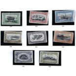 FALKLAND ISLANDS 1933 Centenary 1/2d to 2/6d fine mint and a used 4d. Also 1935 Jubilee 1d to 1/-