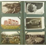 ONE ALBUM OF POSTCARDS, UK, MAINLY EARLY 20TH C, LOCAL INTEREST TO INCLUDE NOTTINGHAM, MARKET