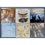 VINTAGE VINYL LP RECORDS, C1970'S / 80'S