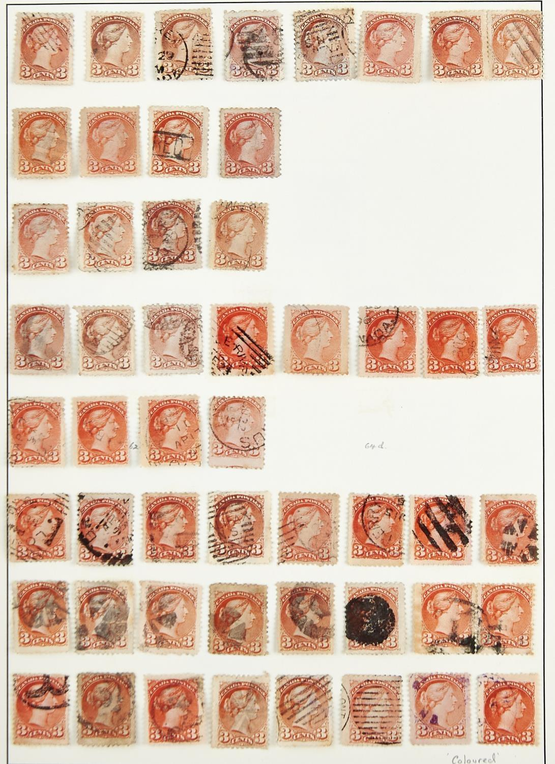 CANADA ETC. 1868-1965The mainly used collection inc. large Queens to 15c, small Queens with 1c (52), - Image 2 of 3