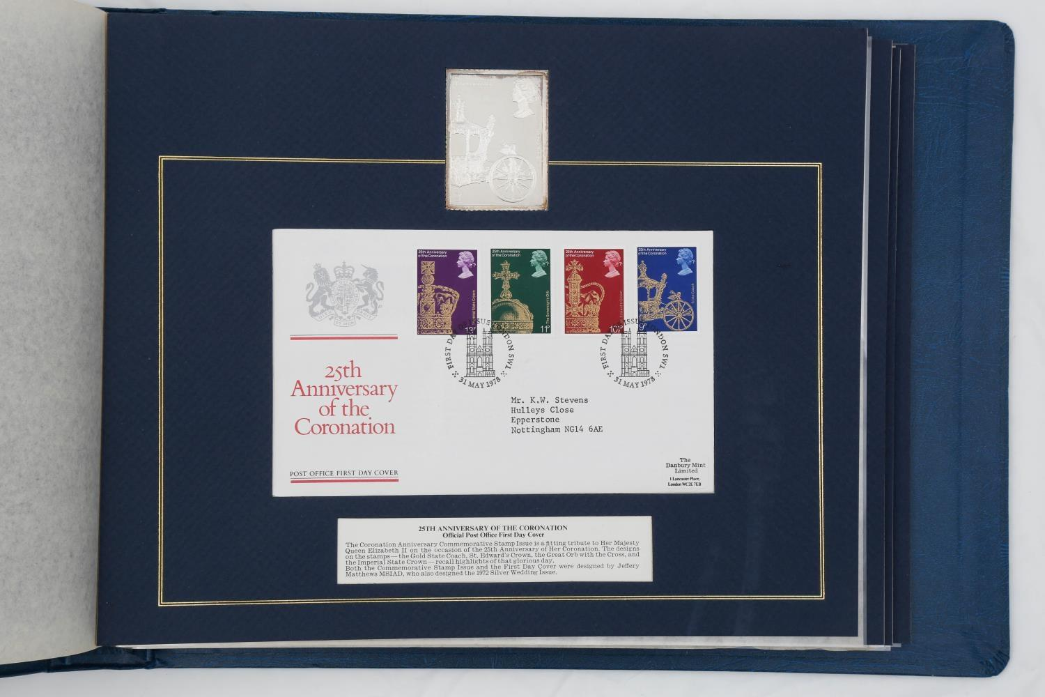 POST OFFICE OFFICIAL COMMEMORATIVE STAMP ISSUES AND FIRST DAY COVERS, 1978. AN ALBUM OF FIVE FIRST - Image 3 of 3