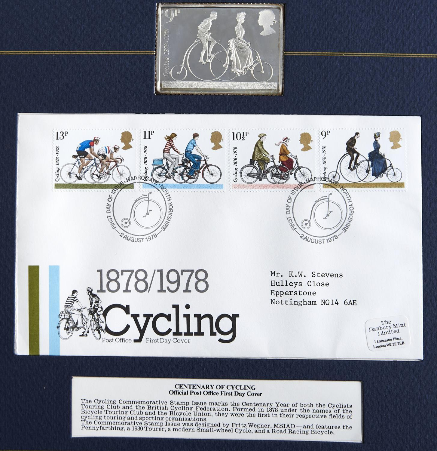 POST OFFICE OFFICIAL COMMEMORATIVE STAMP ISSUES AND FIRST DAY COVERS, 1978. AN ALBUM OF FIVE FIRST - Image 2 of 3