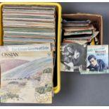 MISCELLANEOUS VINTAGE VINYL LP AND 45RPM RECORDS, 1960S/70S