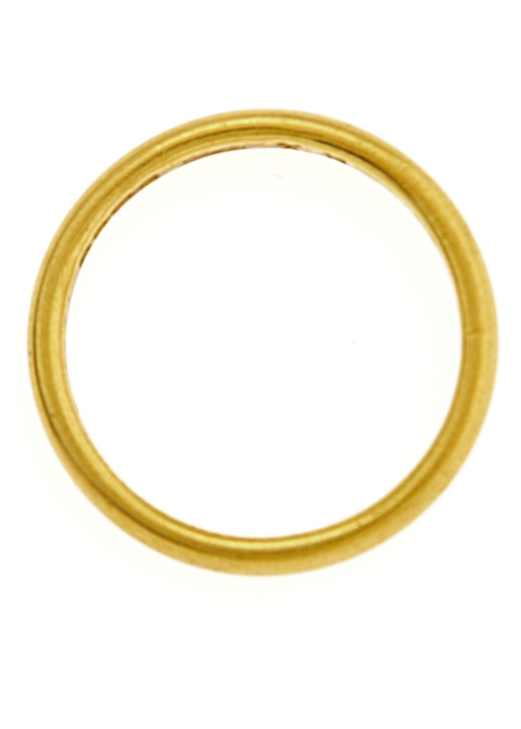 A 22CT GOLD WEDDING RING, BIRMINGHAM 1933, 4.2G, SIZE M½ Good condition - Image 2 of 2