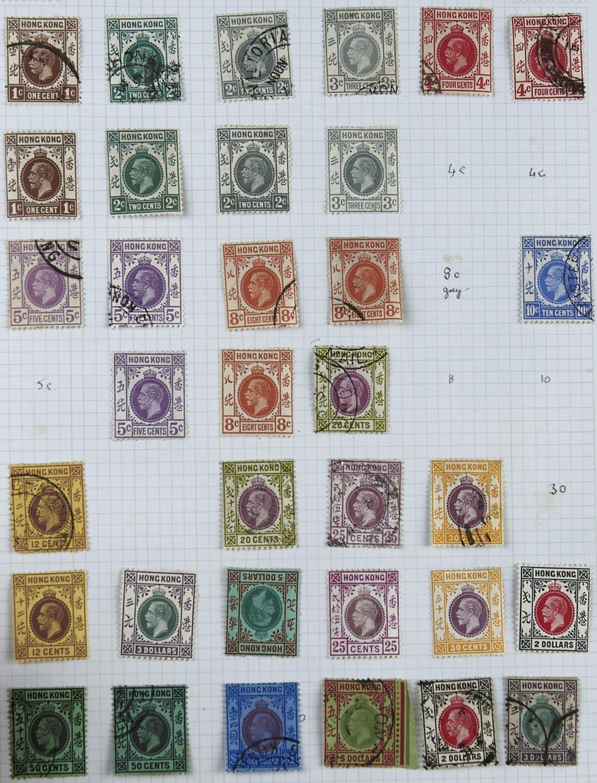 HONG KONG 1912-21 mint 1c, 6c, 12c, 20c. 30c, 50c & $1 (2). Used with 1c (2), 2c (2), 4c (3), 6c ( - Image 2 of 3