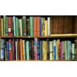 TWO SHELVES OF BOOKS, MAINLY ART REFERENCE