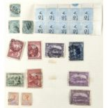 POSTAGE STAMPS. BRITISH COMMONWEALTH AND EMPIRE, AN EXTENSIVE OLD COLLECTION ON LEAVES IN WHITFIELD,
