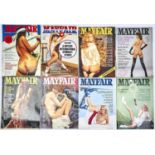 VINTAGE GLAMOUR. A QUANTITY OF MAYFAIR MAGAZINES (APPROXIMATELY 65)