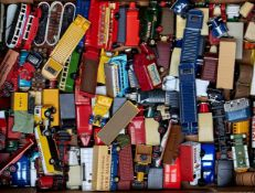 A quantity of Lledo die cast vehicles, mainly days gone, buses, commercial vans, lorries, etc (85