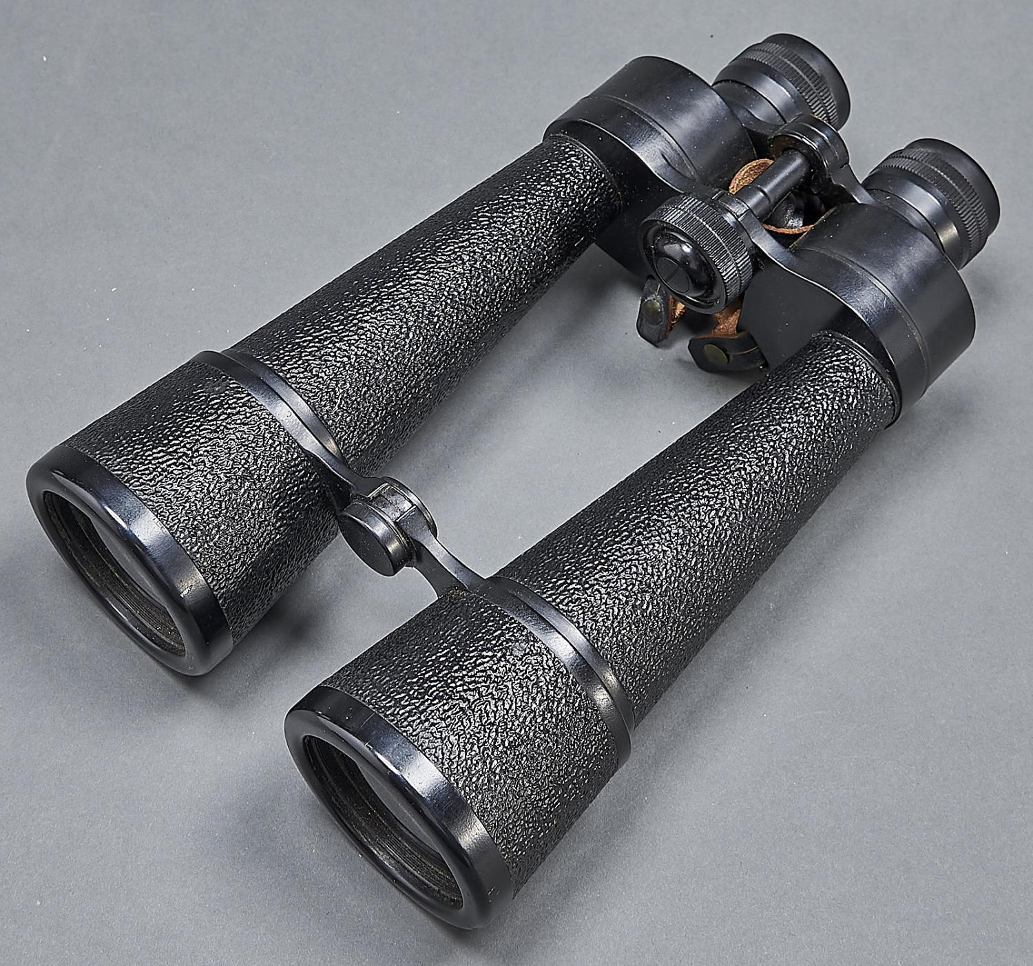 Binoculars. Barr & Stroud 15X, type CF46, No 114494 second quarter 20th c with printed leaflet