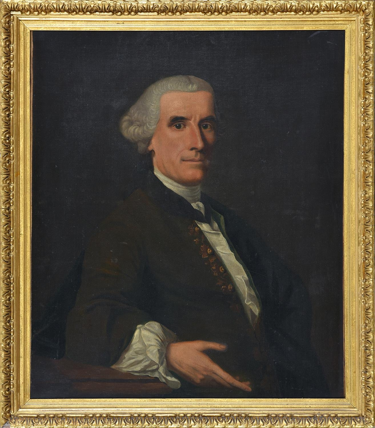 Follower of Alan Ramsay ' Portrait of a Gentleman of the Stewart family of Baulchin Perthshire, half - Image 2 of 3