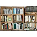 Books. Miscellaneous general shelf stock, journals and magazines (9 boxes)