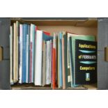 Computing. Miscellaneous reports, magazines and printed ephemera, 1950's - early 1960's, to