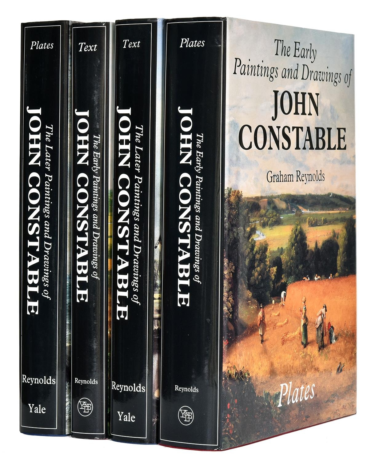 Reynolds (Graham) ' The Paintings and Drawings of John Constable,4 vols, illustrated, dust jackets,