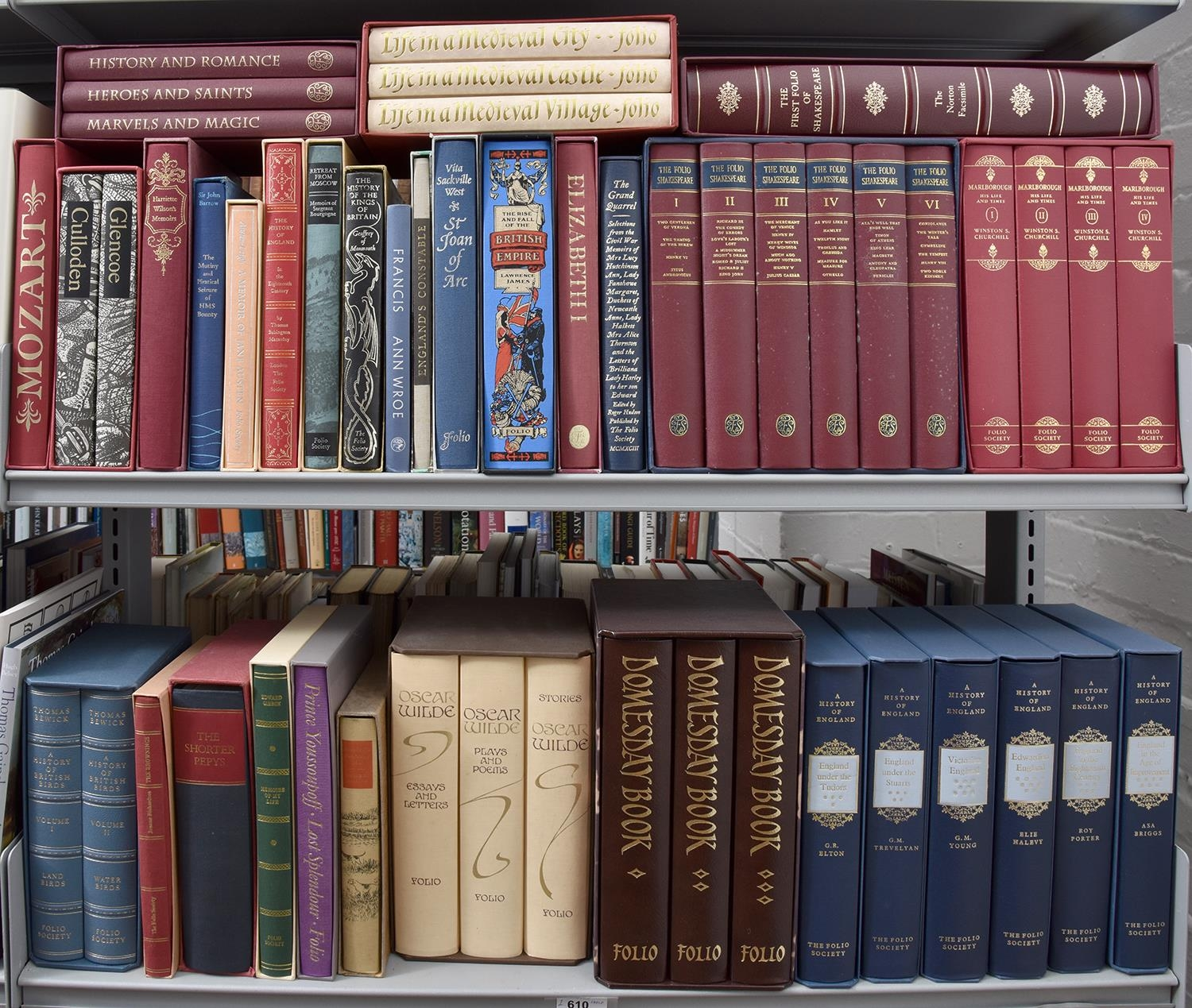 Folio Society. A collection, including multi volume sets, slip cased (4 shelves) - Image 2 of 2