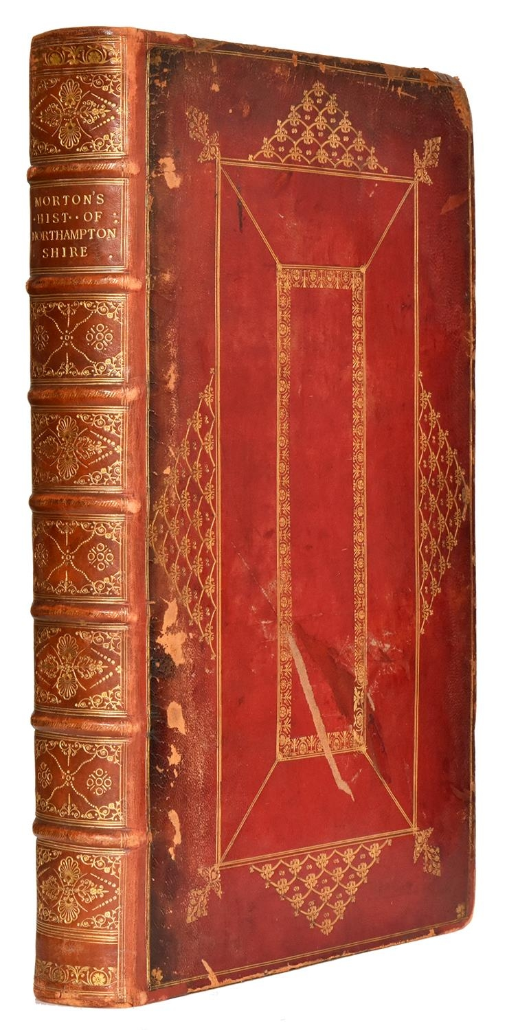 Morton (John) ' The Natural History of Northamptonshire with some Account of the Antiquities,folio,