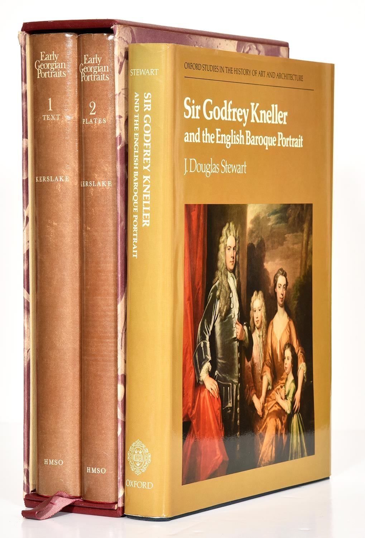 Stewart (J Douglas) ' Sir Godfrey Kneller and the English Baroque Portrait,illustrated, dust