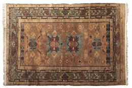 An antique rug - 133 x 197cm