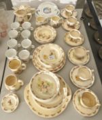 Nursery Ceramics. A collection of Royal Doulton Bunnykins and other pottery, to include an oval