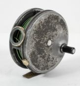 "A Hardy Bros Lts (Alnwick) 'The Perfect 3 7/8""' fly fishing reel,"