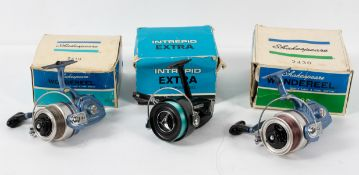 Two Shakespeare fishing reels, 2410 Wondereel 2430, both in original boxes,
