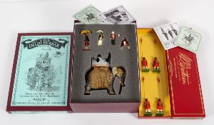 Two Britains toy soldier sets; The Delhi Durbar range,