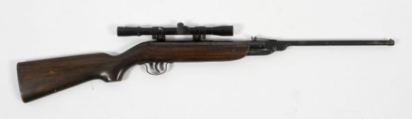 A Webley & Scott Jaguar air rifle,