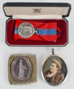 An Imperial Service Medal, awarded to Wilfred John Whale,