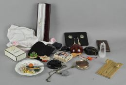 A group of assorted collectables,